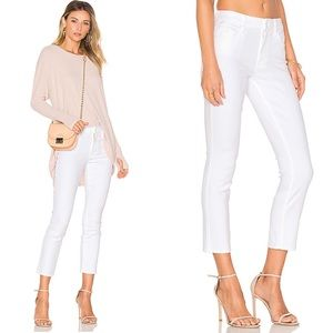 MOTHER The Looker Crop Jeans in Glass Slipper NWT